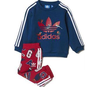SURVÊTEMENT Survêtement Rose Bébé Fille Adidas