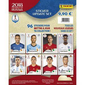 CARTE A COLLECTIONNER PANINI - Coupe du monde 2018 - Album + 5 Pochettes