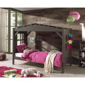 lit cabane pour enfant achat vente pas cher. Black Bedroom Furniture Sets. Home Design Ideas