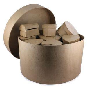 boite ronde en carton achat vente boite ronde en carton pas cher black friday le 24 11. Black Bedroom Furniture Sets. Home Design Ideas