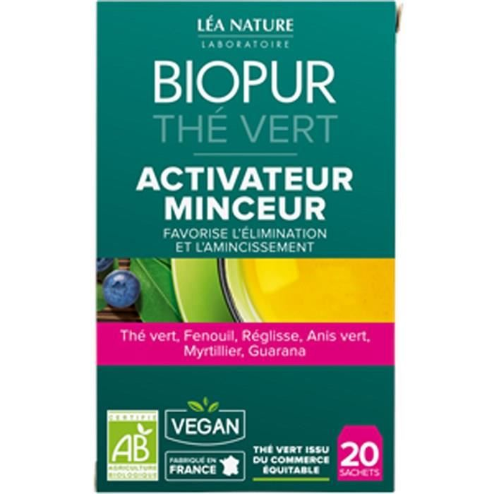 BIOPUR Thé vert - Activateur Minceur - 30 g - LEA NATURE