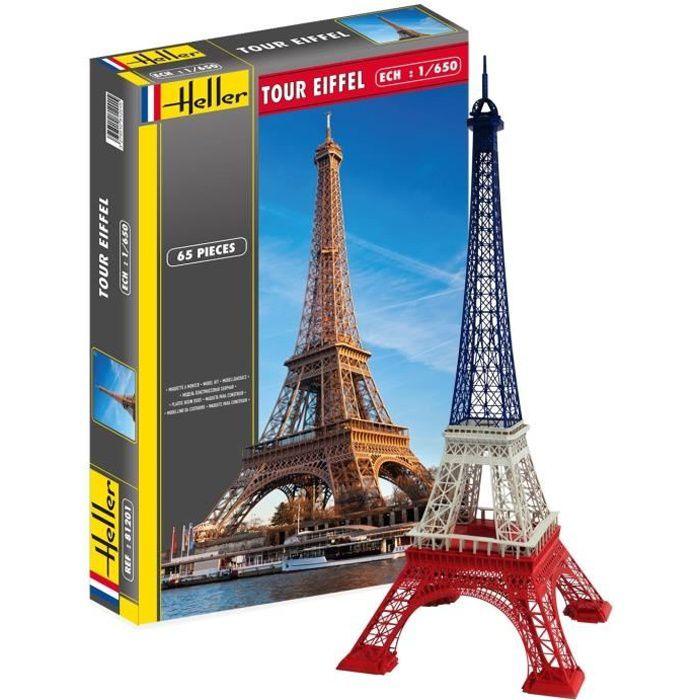 Maquette plastique de la Tour Eiffel à assembler - Mixte - A partir de 14 ans - Livré à l'unitéKIT MODELISME A CONSTRUIRE