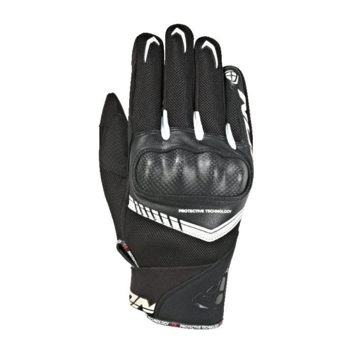 IXON Gant moto RS Loop 2 - Noir et blanc
