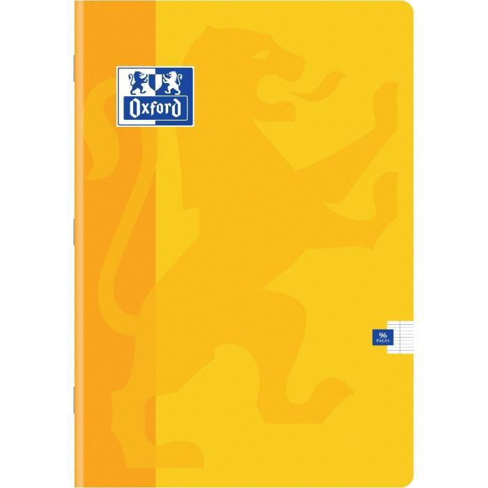 OXFORD Cahiers Color Life A4 Seyes - Jaune
