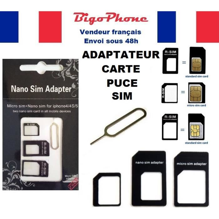 Adaptateur Puce Iphone