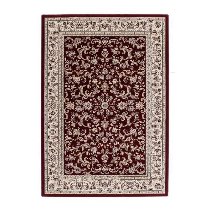 tapis oriental rouge pour salon monastir couleurrouge taille 80 x 150 cm - Tapis Oriental Rouge