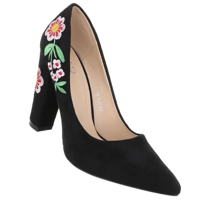 Chaussures femmes l'escarpin High Heels noir 40