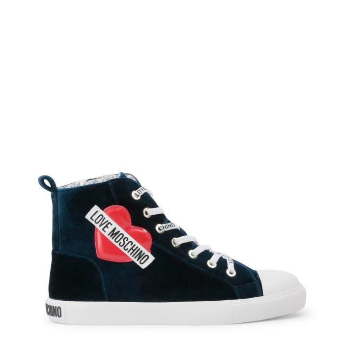 Love Moschino - Sneakers pour femme (JA15023G16IF 075A) - Bleu Bleu ... 21cea8d0a872