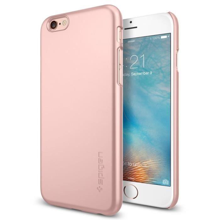 coque rose spigen iphone 6