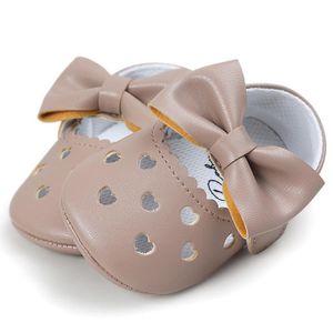 BOTTE Bébé fille évider Bowknot chaussures Casual chaussures Sneaker anti-dérapant chaussures souples@KhakiHM 0yV7zhfSv