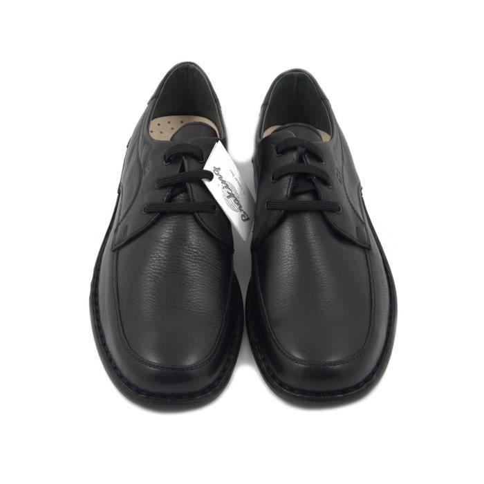 BRAKING,homme chaussure en cuir noir souple et semelle intérieure amovible en cuir, semelle légère avec caoutchouc antidérapant-5931
