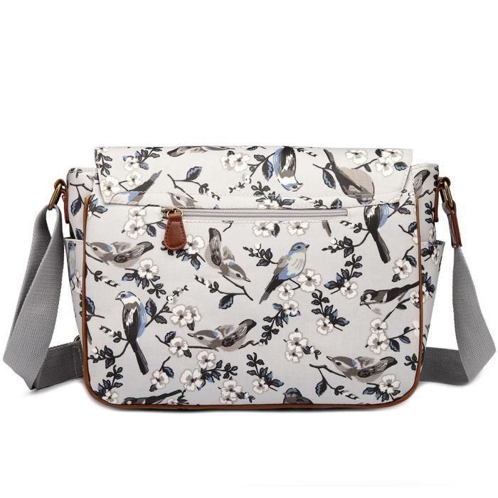 sac de messager sac décole cartable sac en toile oiseau sacs à bandoulière sac à main 1KIGNT