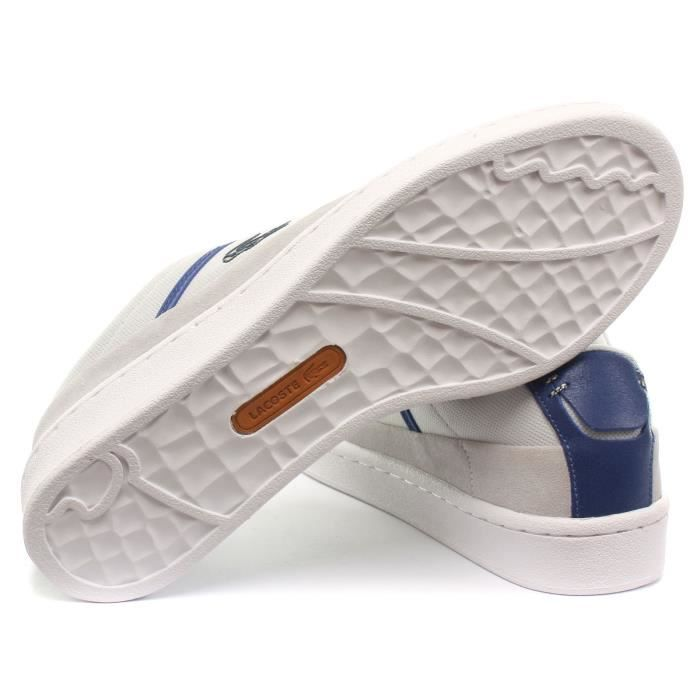 Lacoste Court Line NWP SPM Homme Baskets / Sneakers, Gris