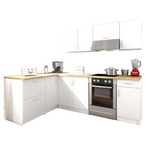 ilot cuisine blanc achat vente ilot cuisine blanc pas cher cdiscount. Black Bedroom Furniture Sets. Home Design Ideas