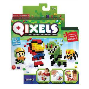 Mini kit 4 créations Qixels (Théme Espace) - SAISON 3