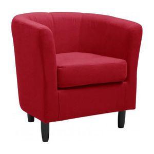 fauteuil cabriolet microfibre achat vente fauteuil cabriolet microfibre pas cher cdiscount. Black Bedroom Furniture Sets. Home Design Ideas