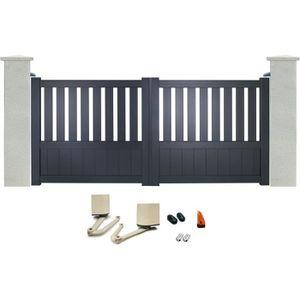 portail 1m40 achat vente pas cher. Black Bedroom Furniture Sets. Home Design Ideas
