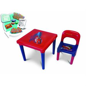 table enfant cars achat vente pas cher. Black Bedroom Furniture Sets. Home Design Ideas