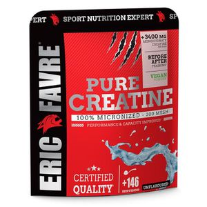 CRÉATINE Pure Creatine 500g 100% Micronized Eric Favre - 14