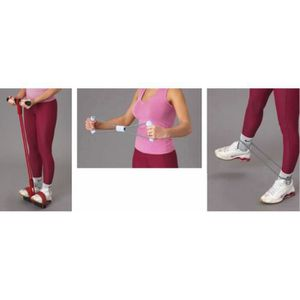 PACK FITNESS - GYM Kit d'exercice multifonction VITAEASY - 2 poignées