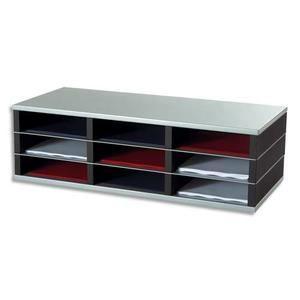 PORTE COURRIER - BAC PAPERFLOW Trieur 9 cases A4 élément départ R3 n…