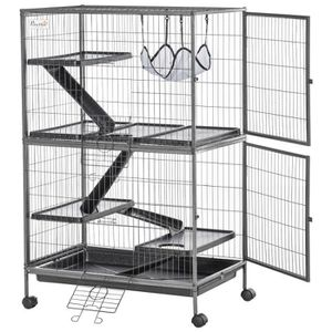 ACCESSOIRE ABRI ANIMAL Cage pour hamsters souris petits rongeurs multifon