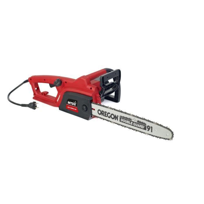 MTD Tronconneuse électrique 40cm 2000 w lubrification automatique