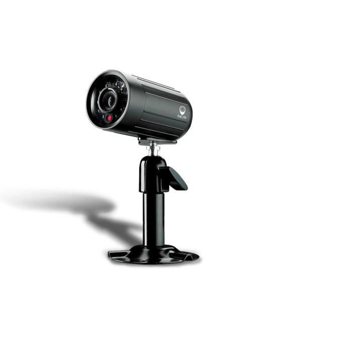 SCS SENTINEL Caméra de surveillance filaire IP à usage intérieur ou extérieur