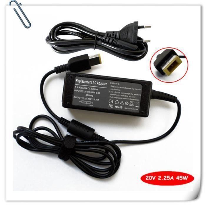 portable ac adaptateur chargeur de batterie pour lenovo. Black Bedroom Furniture Sets. Home Design Ideas