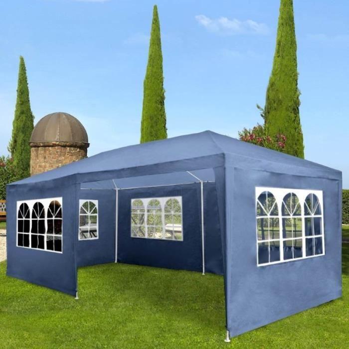 Pavillon ,tonnelle bleu ,abris de jardin , - Achat / Vente ...