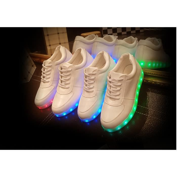 Big charge Taille USB LED multicolores clignota...