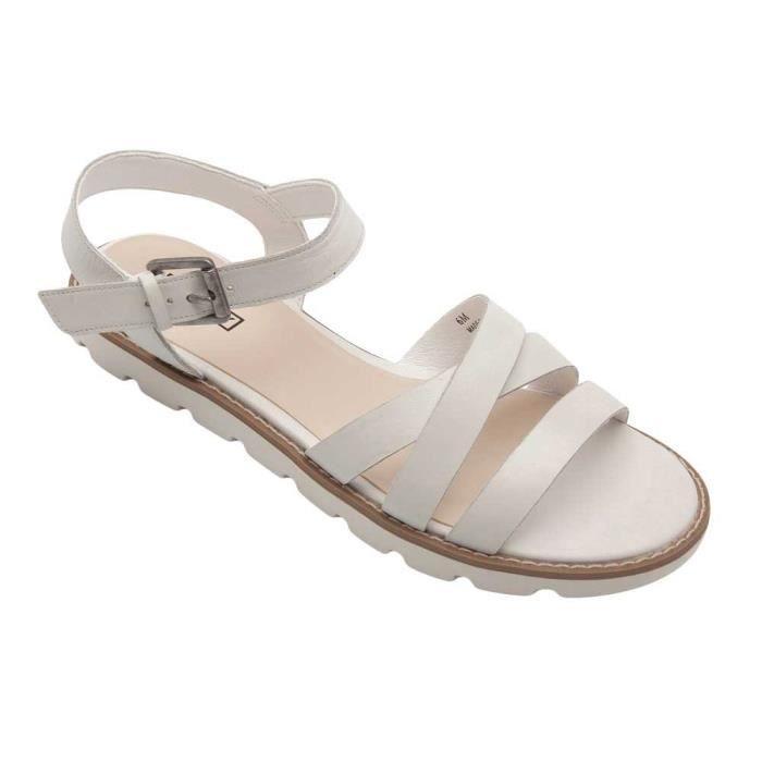 Sandales Cabo Femmes - Sandales plates en cuir à lacets Q0J6O Taille-40