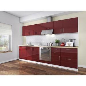 cuisine complete 3m achat vente cuisine complete 3m pas cher cdiscount. Black Bedroom Furniture Sets. Home Design Ideas