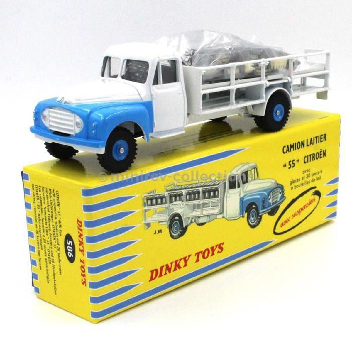 Atlas Dinky Toys 586 Citro 235 N Camion Laitier Quot 55 Quot Blanc