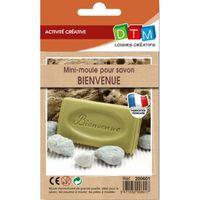 """JEU DE CRÉATION SAVON Mini moule pour savon - """"BIENVENUE"""" - DTM"""