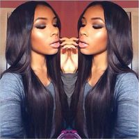 MÈCHE EXTENSIONS extensions cheveux Femmes 2 Bundles  HUMAINS 200g