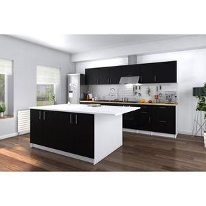Quelle hauteur pour un meuble de cuisine cdiscount - Plan de travail cuisine largeur 100 cm ...