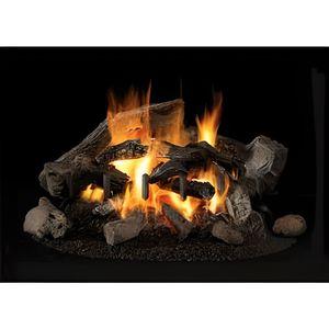 PLAQUE DE CHEMINÉE Bûches en céramique pour cheminée éthanol (x10)