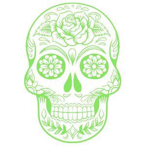 Tete de mort mexicaine - Achat   Vente pas cher ae59be79def
