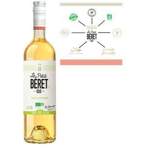 Apéritif à base de vin LE PETIT BERET Blanc Elégance Boisson sans Alcool