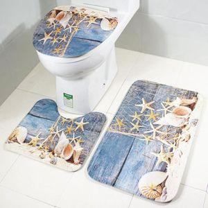 Tapis salle de bain mer
