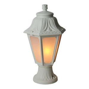 Lanterne jardin sur pied achat vente pas cher for Lanterne exterieur sur pied
