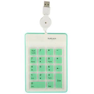 PAVÉ NUMÉRIQUE Clavier USB numérique externe (flexible-silicone)