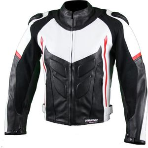 BLOUSON - VESTE Kc035 Blouson moto cuir GP Vortex Karno-Motorsport