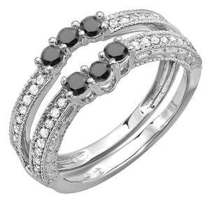 BAGUE - ANNEAU Bague Femme Diamants 0.60 ct  18 ct 750-1000 Or Bl