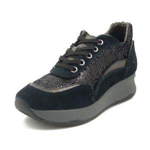 BASKET LUMBERJACK,  sneaker femme, basket couleur noir