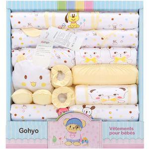 Ensemble de vêtements Gohyo Petit Bébé 0-1ans& 80cm et moins 18 ensemble
