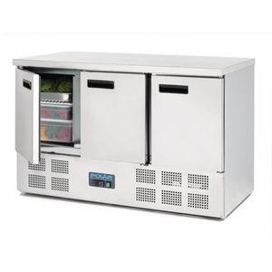 ARMOIRE RÉFRIGÉRÉE Table réfrigérée 3 portes 368L Polar