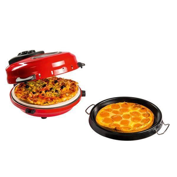 DOMOCLIP DOC119 Four à pizza et à tarte électrique - Rouge