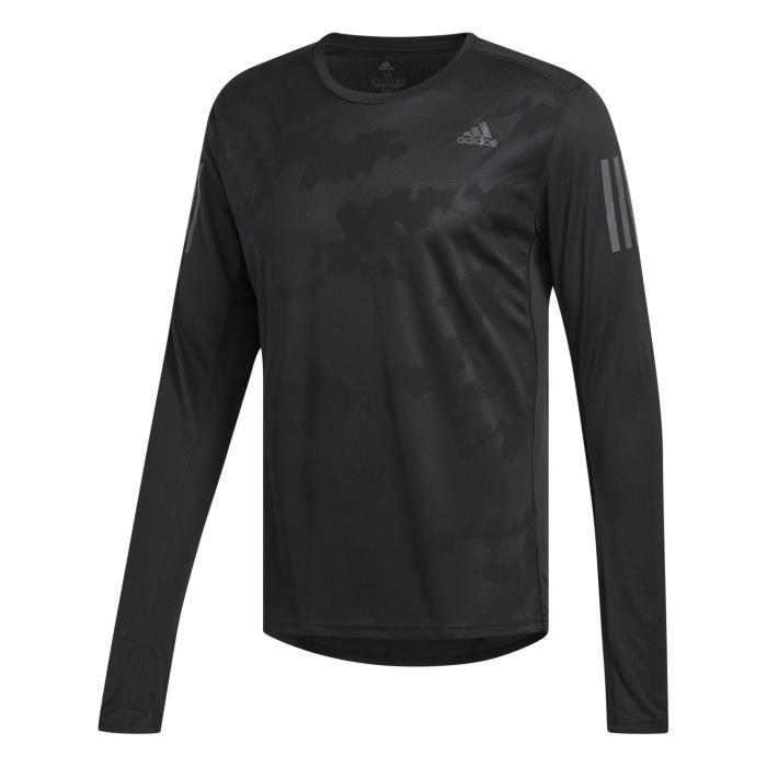 ADIDAS T-shirt de running Response - Homme - Bleu